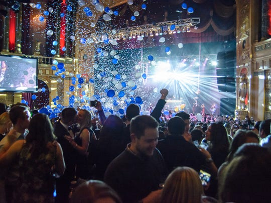 The Resolution Ball hits the Fillmore Detroit on New
