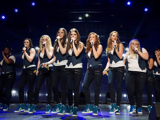The cast of 'Pitch Perfect 2' is recognized with honors