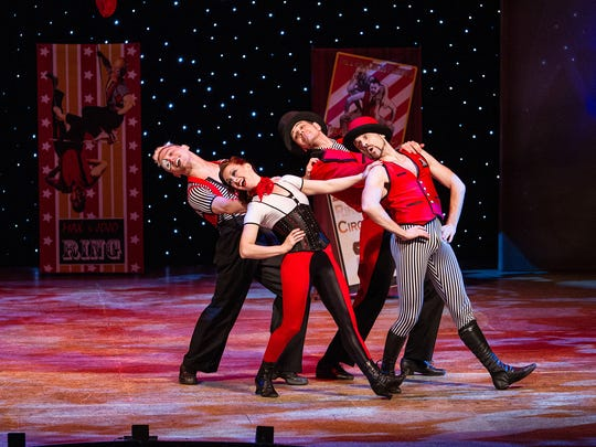 The Spruce Peak Performing Arts Center hosts two performances Friday by 2 Ring Circus.