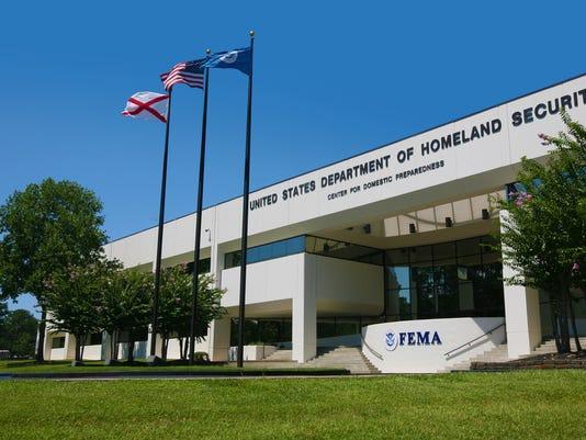FEMA's Center for Domestic Preparedness.