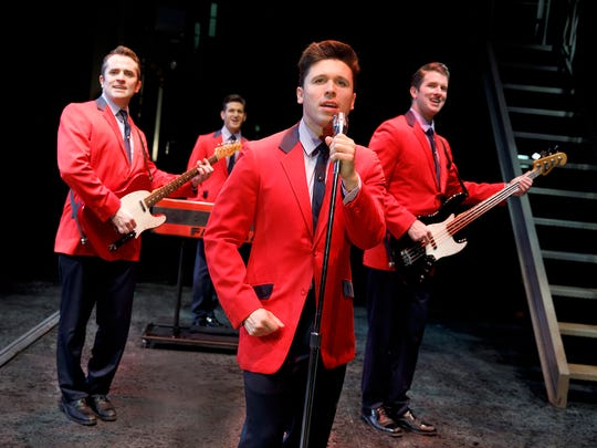 """""""Jersey Boys"""" will be playing the State Theatre in New Brunswick from Oct. 13 to 15."""
