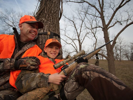 In 1986, a law went into effect requiring all hunters wear a hunter's orange vest or hat during firearms deer season.