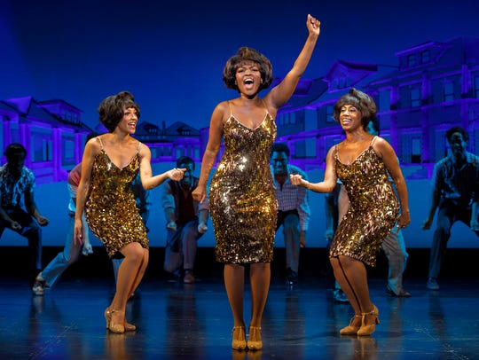 "A scene from ""Motown the Musical."""
