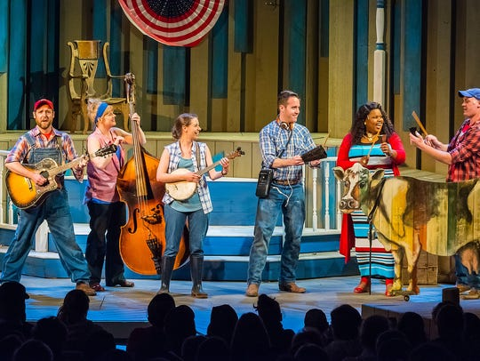 "Northern Sky Theater performs ""Dairy Heirs"" in Door"