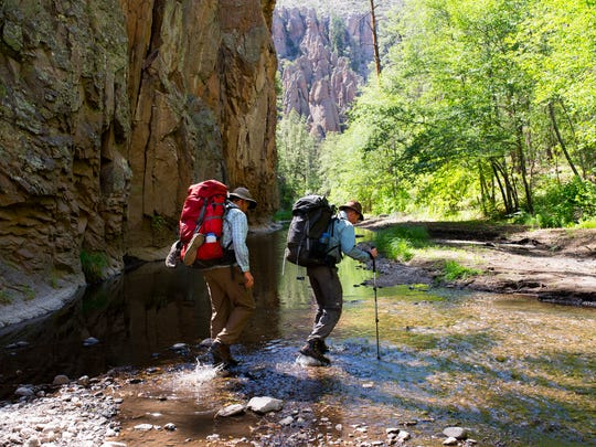 """Portions of the Gila River would be designated as """"wild and scenic"""" under legislation unveiled Tuesday by New Mexico's two U.S. senators."""