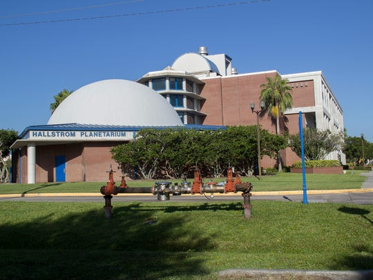 Hallstrom Planetarium on the Indian River State College