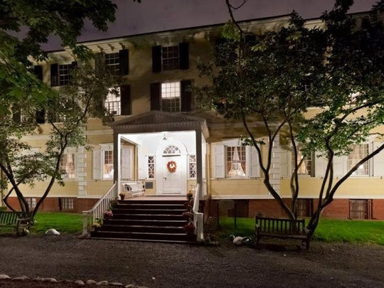 Candlelight Ghost Tours are offered at Liberty Hall
