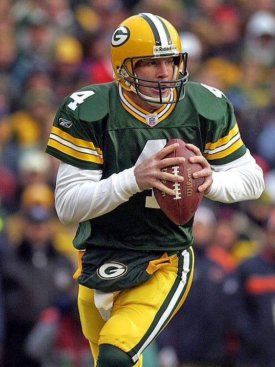 Packers against Bears