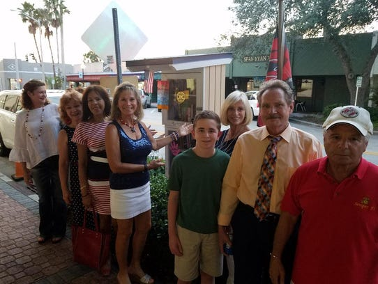 Oceanside Rotary Group shows off downtown's Little