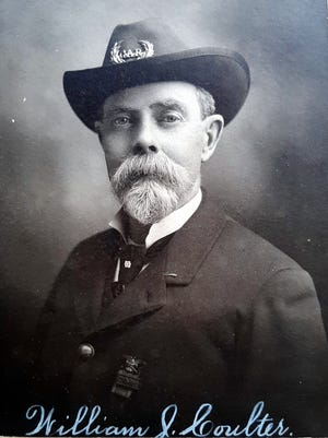 William J. Coulter later in life in his GAR uniform.