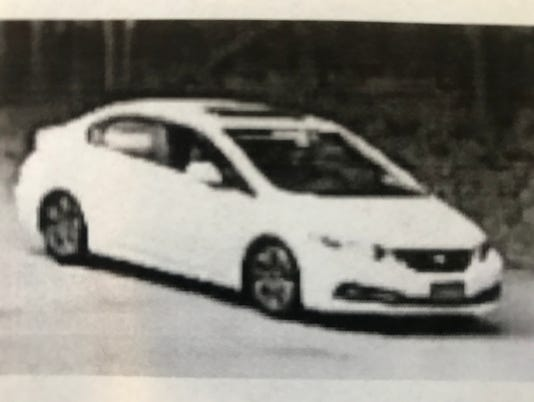 Honda Civic involved in reported abduction, Pompton Lakes, N.J.