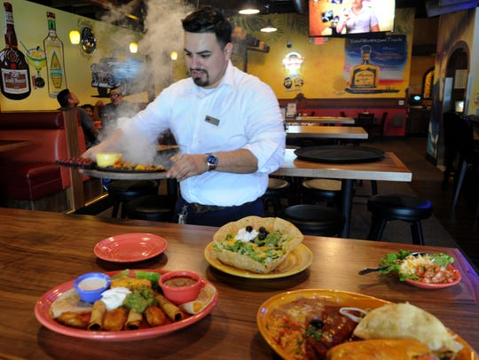 Chris Rodriguez, manager for Yolanda's Mexican Cafe