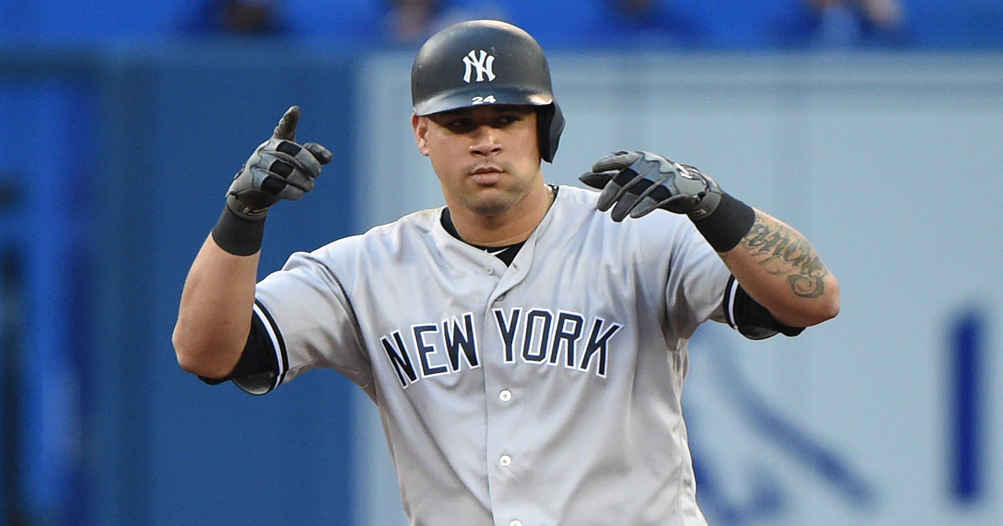 ba974e3516c New York Yankee catcher Gary Sanchez  progressing well  from injury