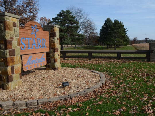 The entrance to Starr Commonwealth's Albion campus