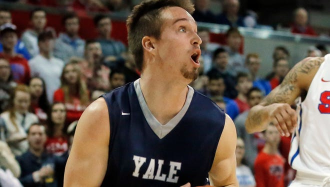 Yale's Jack Montague's last game with the Bulldogs was Feb. 6, four days before he was expelled from the school.