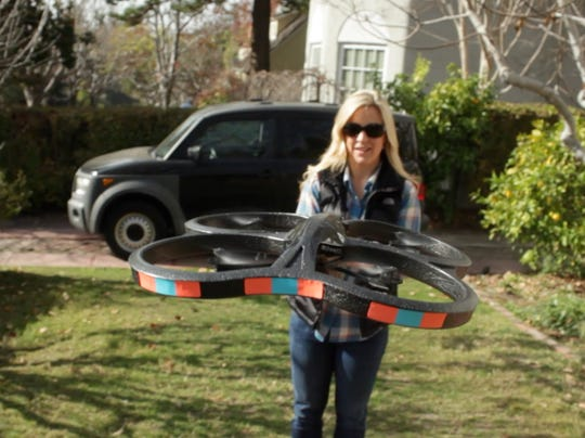 Jenn flying drones 1