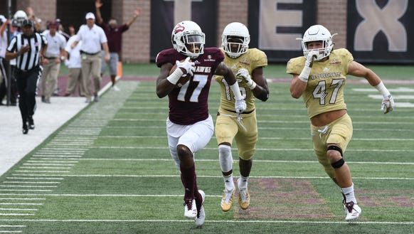 The run-pass option has helped ULM average 50 points