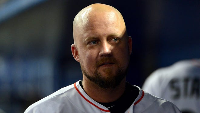 Casey McGehee ranks sixth in the National League with 53 RBI.