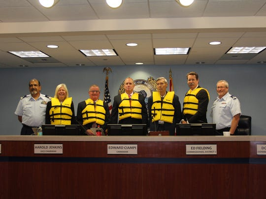 The Martin County Board of County Commissioners supports Wear Your Life Jacket to Work Day which will be May 18, 2018.