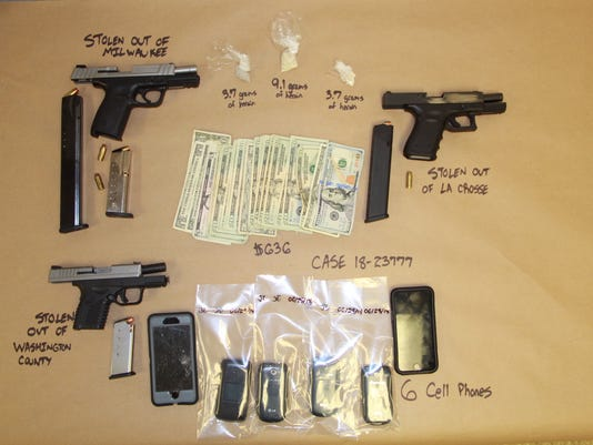 Germantown heroin bust ends with 3 arrested