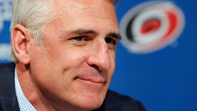 Ron Francis was a star player with the Hartford Whalers/Carolina Hurricanes franchise and joined the front office after he retired.