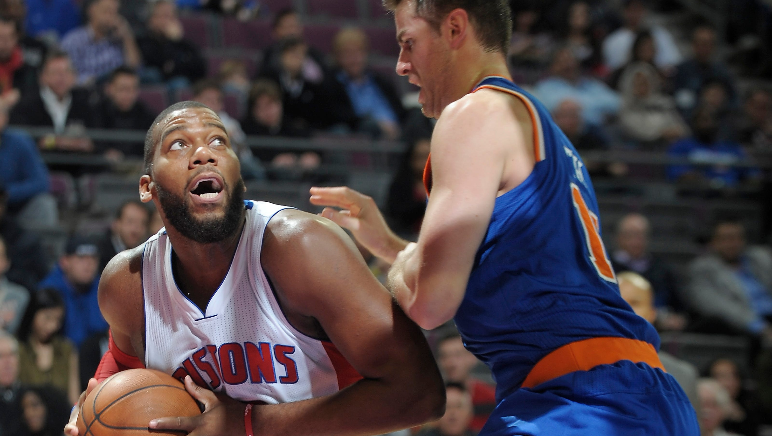 Despite wobbly finish, Pistons earn first victory