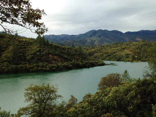 Nice views of Keswick Reservoir are found along Hornbeck Trail on the north edge of Redding.