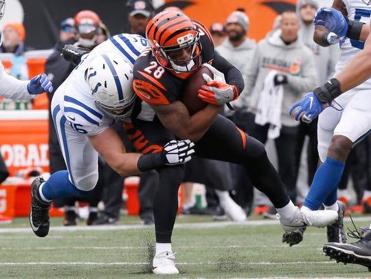 Oct 29, 2017; Cincinnati, OH, USA; Cincinnati Bengals