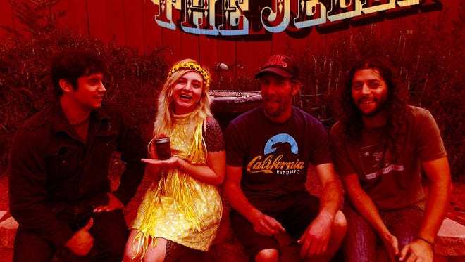 The Jelly features local original rock from Jaymes Quirino (guitar), Jeremiah Esparza (drums), Brandon Romero (bass) and Brittney Burchette (vocals).