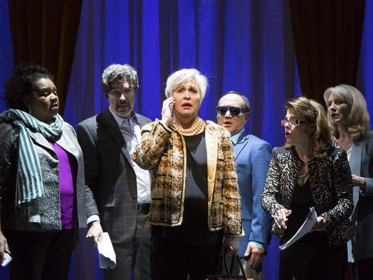 Aisha de Haas (left to right), Chris Shyer, Nancy Opel,