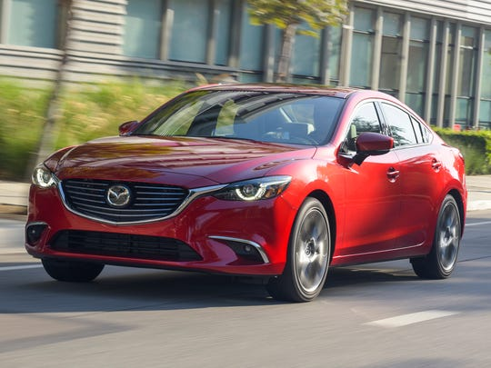 This photo provided by Mazda shows the Mazda 6, which