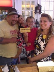 Al and Heather Hamilton drove nearly three hours to York to find a golden ticket to the city's 275th Birthday Bash July 23.