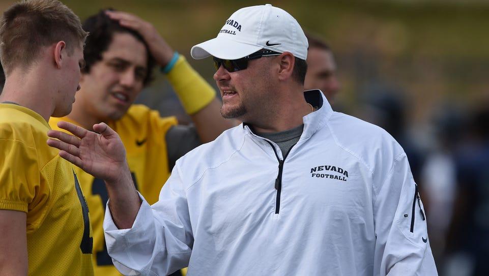Nevada offensive coordinator Tim Cramsey has been pleased
