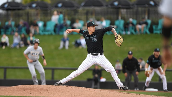 Coastal Carolina University pitcher Zach McCambley is ranked No. 80 on MLB.com's top draft prospects list. The 2017 Pocono Mountain East graduate is set for the MLB Draft, which begins on Wednesday.