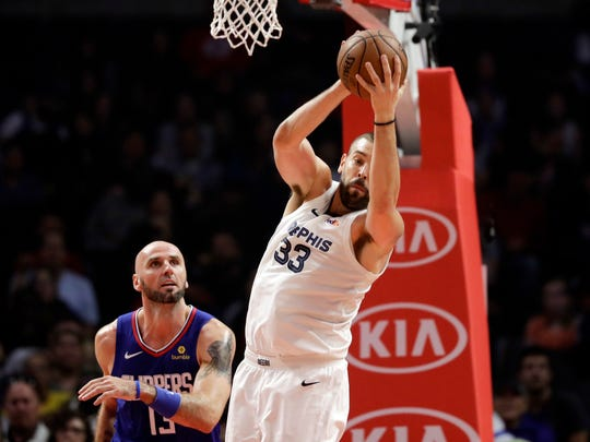 Memphis Grizzlies center Marc Gasol reportedly had a rift with David Fizdale. But Gasol has moved on.
