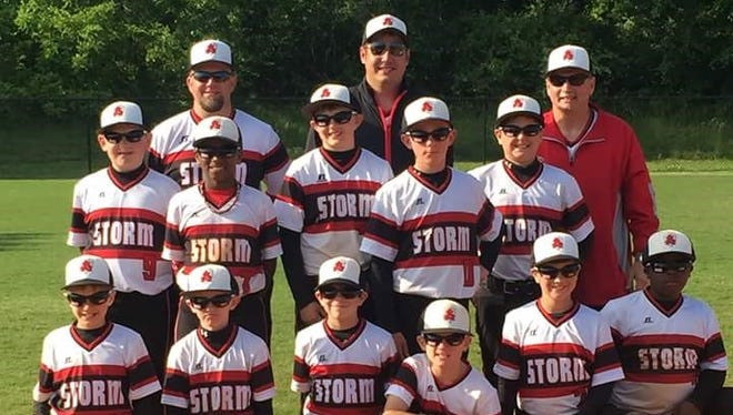 The Asheville Storm baseball team won the 10 and under age division at last weekend's Line Drive tournament in Kingsport, Tenn.