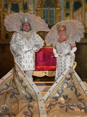 2. The Krewe of Iris, the oldest and one of the largest female Carnival organizations for women in New Orleans, celebrates its 100th anniversary this year. West Monroe native Pam Pickett was Queen in 2014 and reigned over festivities with her husband, King Larry.