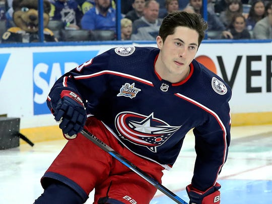 Zach Werenski, an All-Star, is intrigued by the idea of a players' weekend.