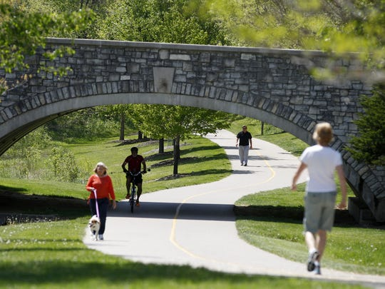There is now an 11-acre dog park at Miami Whitewater