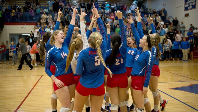 West Henderson, shown during the 2016 season, improved to 12-0 with a win Thursday against North Buncombe.