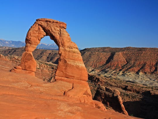 Delicate Arch is arguably Utah's most famous natural