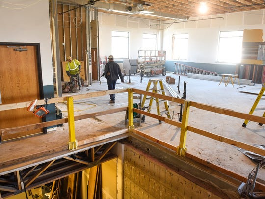 Demolition is underway Monday, April 11, for the new Urban Moose Brewing Co. brewpub and taproom in Sauk Rapids. The brewery will be at the site of the former Sauk Rapids American Legion Hall, 415 Benton Drive N.