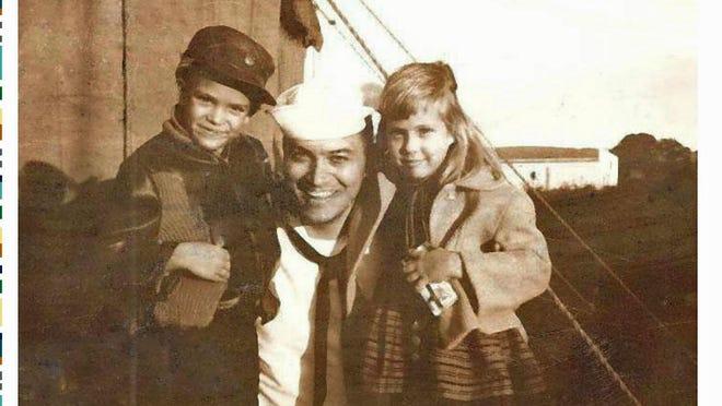 Wally Lafferty and Webbie Lafferty Hemp with Sailor Bob in Fishersville.