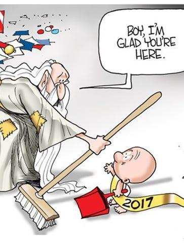 January USAT Network Cartoons