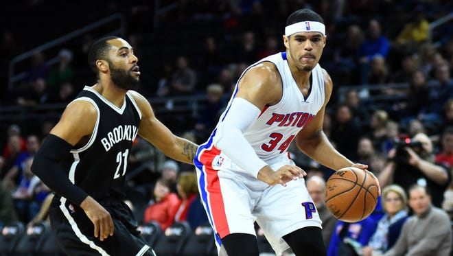 "Tobias Harris is averaging 16.6 points in 17 games as a Piston. ""They're huge,"" Hornets coach Steve Clifford said. ""You put him up there with (Andre) Drummond and (Marcus) Morris. ... It was a terrific trade for them, and it's already paid off."""
