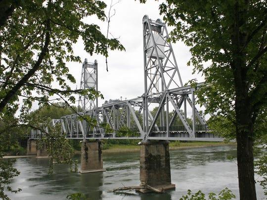 Best family-friendly bike rides in Salem. No. 5 - Riverfront and Union Street Railroad Bridge.