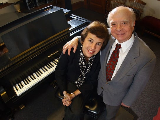 Fernando Laires and his wife and fellow pianist Nelita