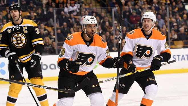 The Flyers' Pierre-Edouard Bellemare was named the  Philadelphia chapter of the Professional Hockey Writers Association's nominee for the Bill Masterton Memorial Trophy.