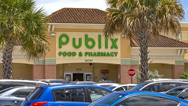 The Publix Super Market at Congress Avenue and Hypoluxo Road sold the nation's only winning Powerball ticket in Wednesday's drawing. Someone who shops at the store is $168.5 million wealthier in Boynton Beach, Thursday, August 13, 2020.