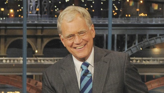 "David Letterman during a June 2009 episode of ""Late Show with David Letterman."""